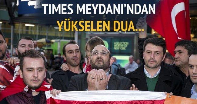Times Meydanı'nda AK Parti'nin zaferi kutlandı!