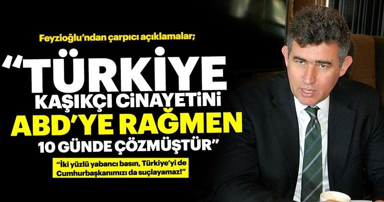 Feyzioğlu'ndan Kaşıkçı açıklaması: İki yüzlü yabancı basın Türkiye'yi suçlayamaz