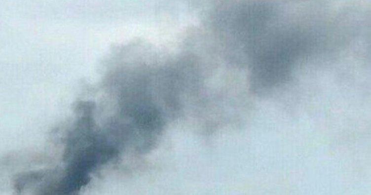 Ortaköy'de AVM'de korkutan yangın