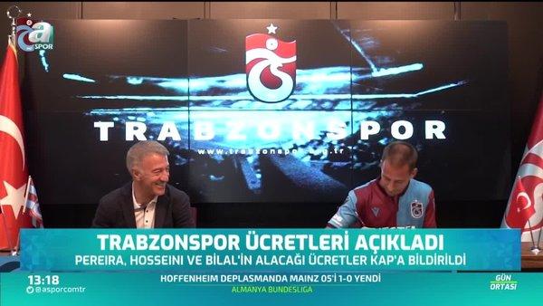 Trabzonspor'da 3 imza! İşte ücretler