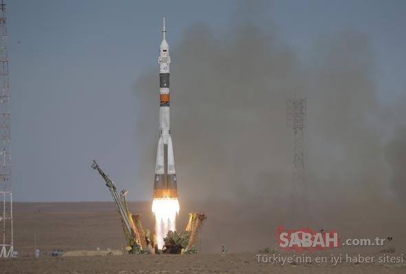 Uzay gemisinin fırlatılışı sırasında kaza