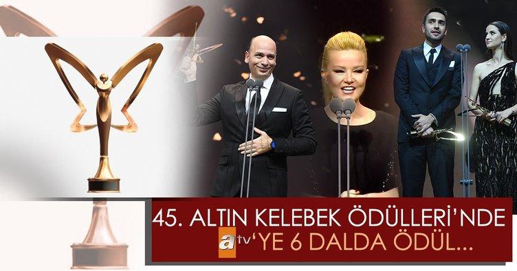 atv'ye Altın Kelebek'ten 6 ödül