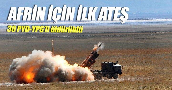 30 PYD-YPG'li öldürüldü