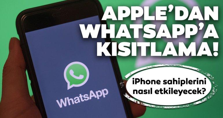 Apple'dan WhatsApp ve Facebook'a şok kısıtlama! iOS 13'ün yeni özelliği iPhone sahiplerini nasıl etkileyecek?
