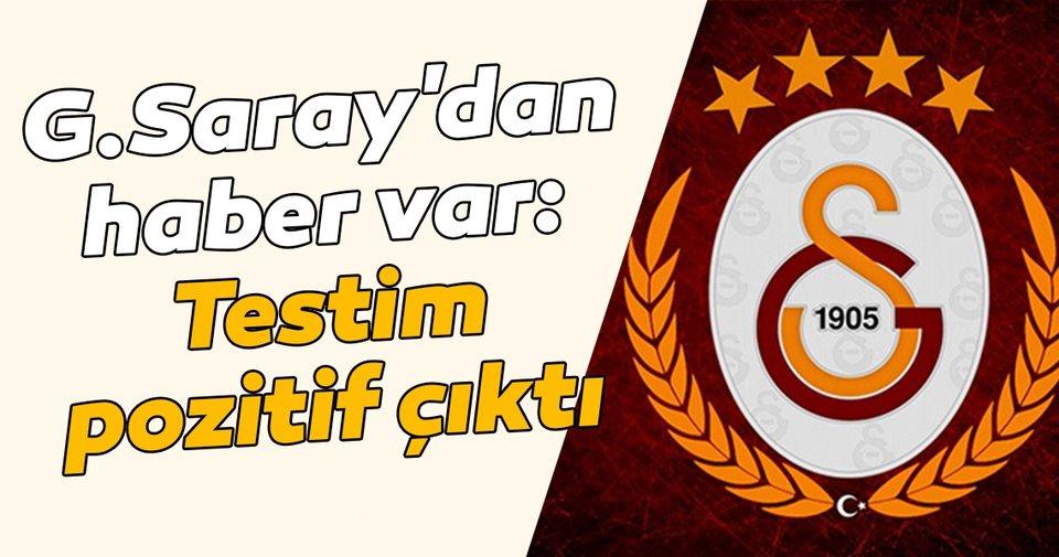 Galatasaraylı Kaan Kançal: 'Testim pozitif çıktı'