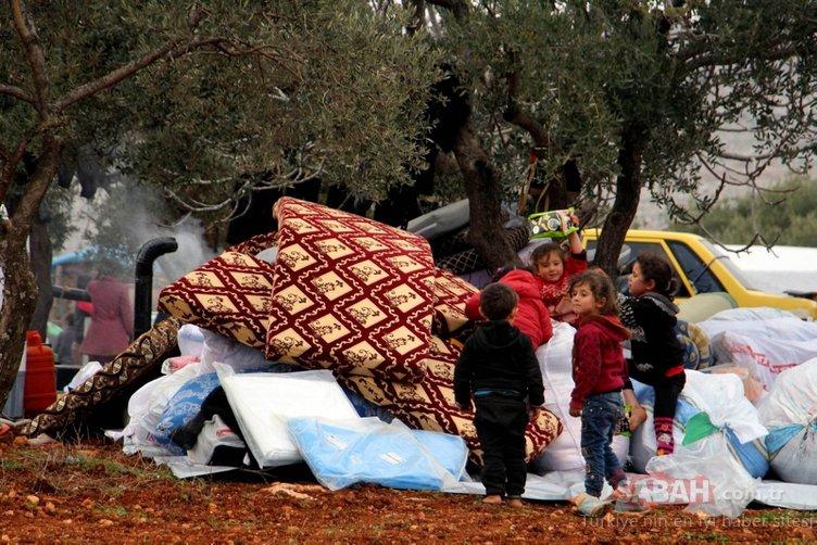 Son dakika... Rejim saldırısı nedeniyle İdlib'den sınırımıza gelen göçmenlerin sayısı 830 bin oldu!