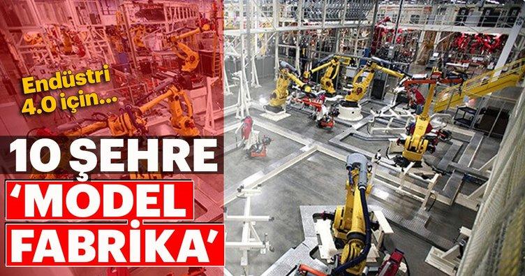 Endüstri 4.0 için 10 'Model Fabrika'
