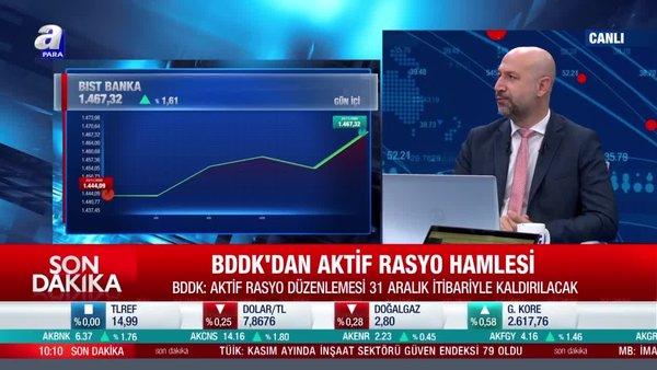 SON DAKİKA! BDDK duyurdu: Aktif rasyo kaldırılıyor