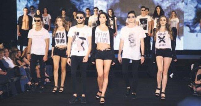 Genç modeller yarıştı