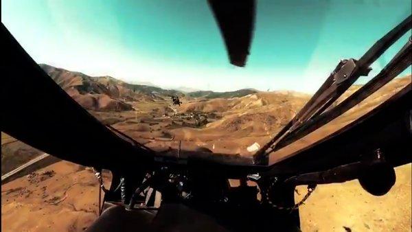 İşte Atak helikopterinin kokpitinden 360 derece gerçek operasyon görüntüleri | Video