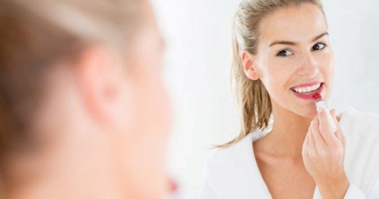 Aromalı dudak nemlendiricisi uyarısı