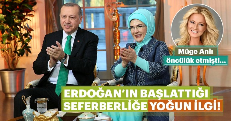 Erdoğan'ın başlattığı okuma yazma seferberliğine yoğun ilgi