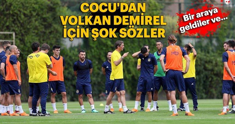 Cocu'dan Volkan Demirel için şok sözler