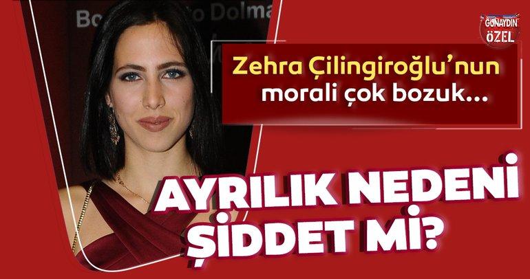 Hülya Avşar'ın kızı Zehra Çilingiroğlu şiddetten rahatsız oldu!  Zehra Çilingiroğlu, sevgilisi Alaattin Kadayıfçıoğlu'nu neden terk etti?