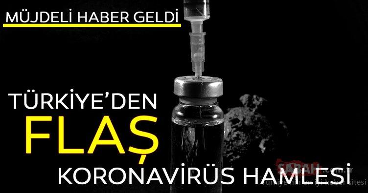 CORONA VİRÜSÜ SON DAKİKA| Corona virüsü tedavisi için müjdeli haber geldi! İlk bulgular çok umut verici