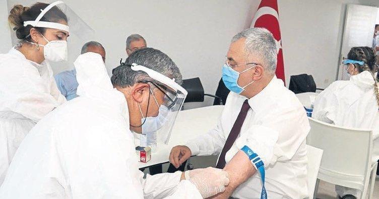 Adana sanayisine antikor testi