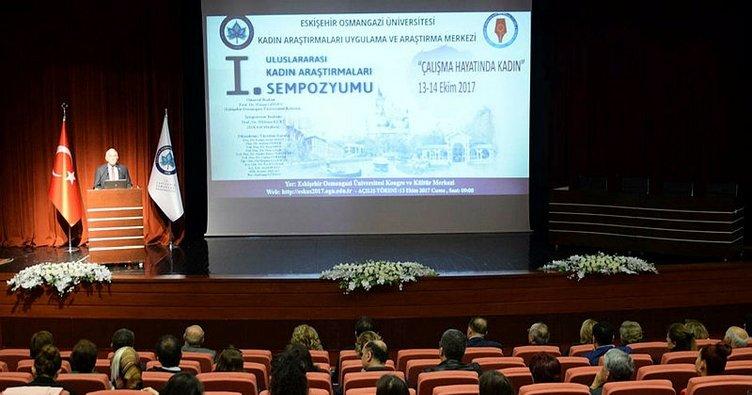 Uluslararası Kadın Araştırmaları Sempozyumu ESOGÜ'de Başladı