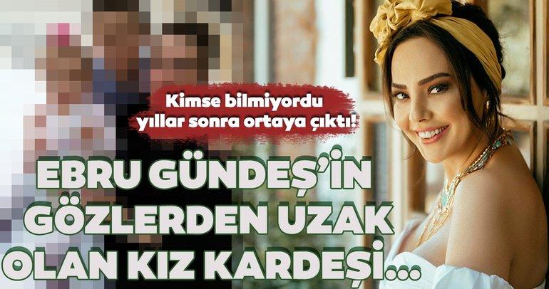 Ebru Gündeş'in gözlerden uzak olan kız kardeşi Aslıhan Gündeş Akça'yı görenler… Kimse bilmiyordu!