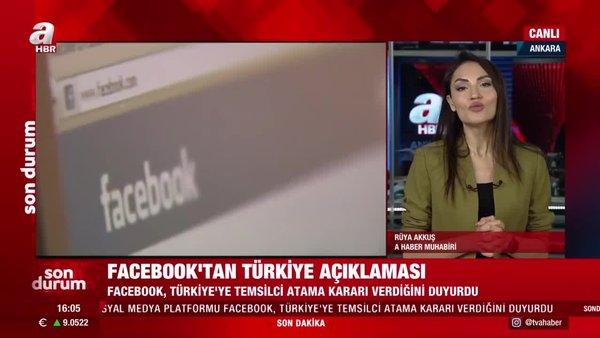 SON DAKİKA: Facebook'tan flaş Türkiye açıklaması! | Video