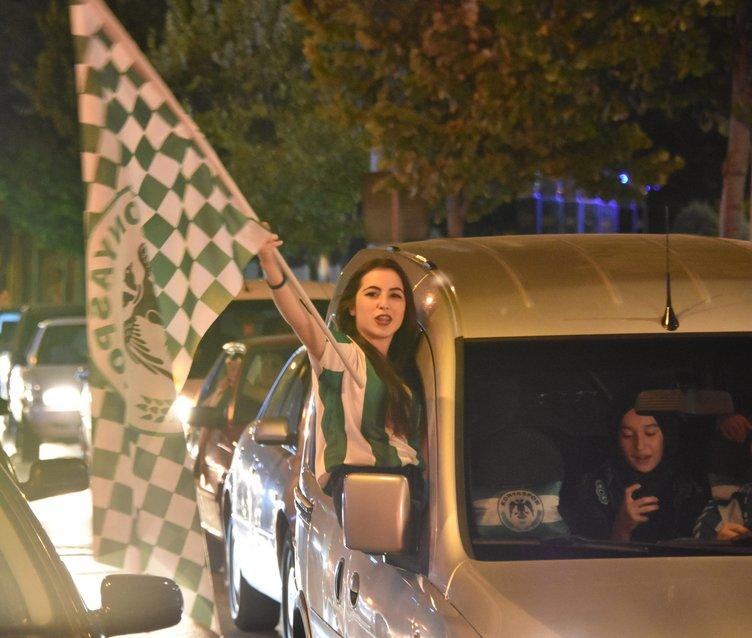 Konya'da coşkulu Süper Kupa sevinci