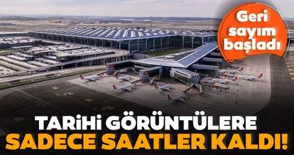 """""""Bir Zafer Anıtı: İstanbul Havalimanı"""" belgeseli için saatler kaldı!"""