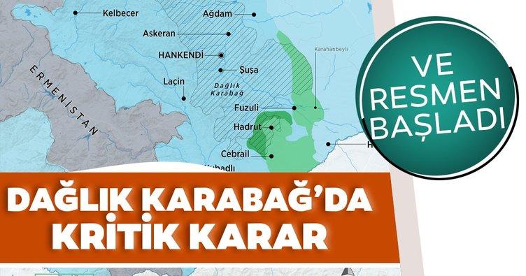 Son dakika: Ermenistan ve Azerbaycan'dan Dağlık Karabağ'da geçiçi ateşkes kararı