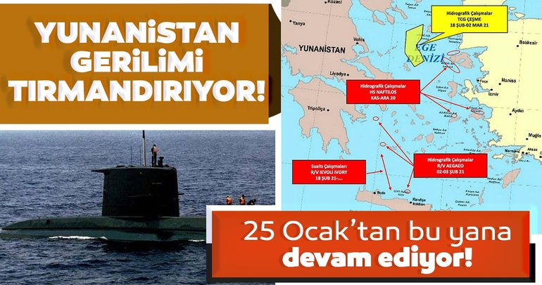Son dakika haberi: Yunanistan'dan gerilimi tırmandıran adım! 25 Ocak'tan beri sürüyor...