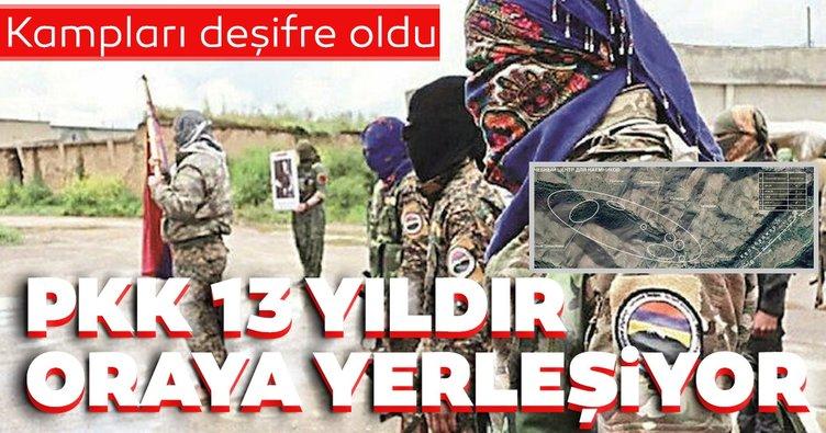 Kampları deşifre oldu! PKK 13 yıldır Karabağ'a yerleşiyor