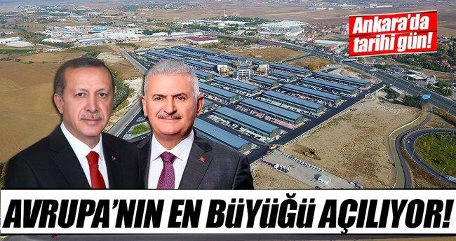 Avrupa'nın en büyük otomotiv merkezi 'otonomi' bugün açılıyor