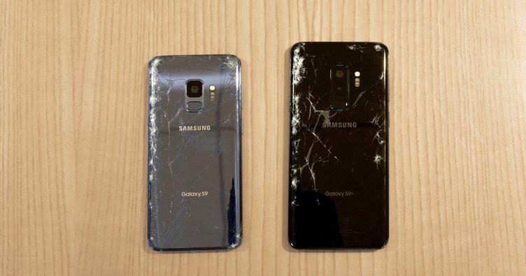 Galaxy S9 kırılma testinde!