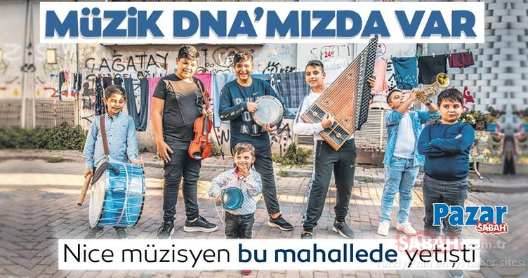 Müzik DNA'mızda var