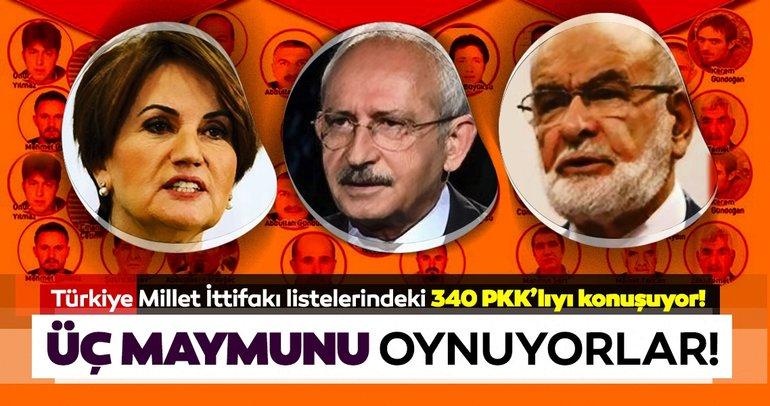 Türkiye Millet İttifakı listelerindeki 340 PKK'lıyı konuşuyor!