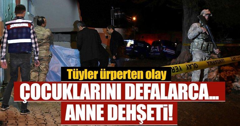 Son dakika: Gaziantep'te akılalmaz olay! Anne, 2 çocuğunu öldürüp intihara kalkıştı