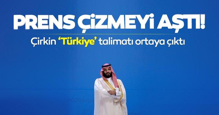 Son dakika haberler | Suudi Arabistan'ın hadsiz 'Türkiye' tehdidi ortaya çıktı
