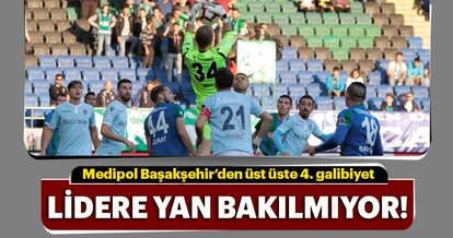 Lider Başakşehir, Rizespor'u da devirdi