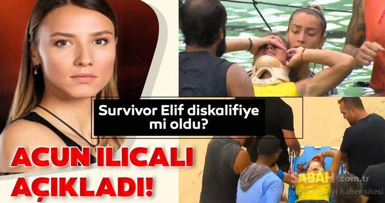 Survivor Elif diskalifiye mi olacak? Acun Ilıcalı'dan Survivor Elif hakkında açıklaması!