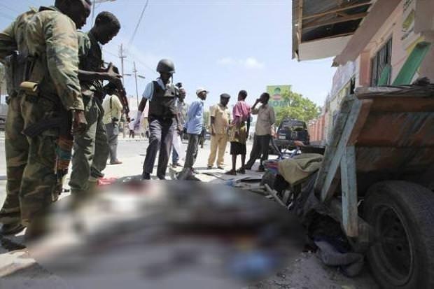 Somali'de Türk Büyükelçiliği yakınında bombalı saldırı