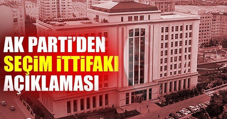AK Parti Sözcüsü Mahir Ünal'dan flaş Seçim İttifakı açıklaması