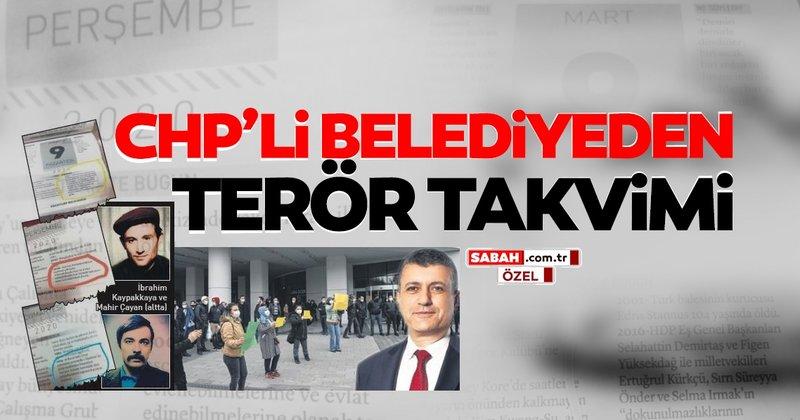 Son dakika: CHP'li Belediye'den 'TERÖR TAKVİMİ' - Son Dakika Haberler