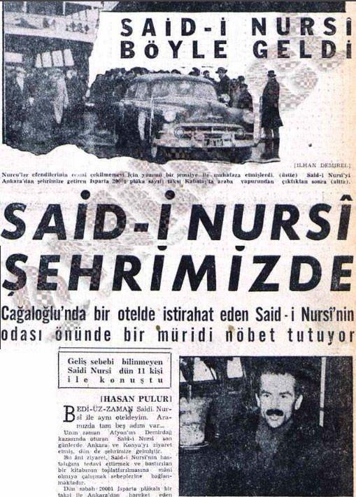 Bediüzzaman Said Nursi'nin hayatı
