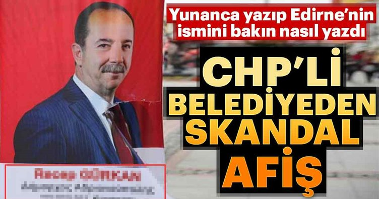 CHP'li belediyeden skandal afiş