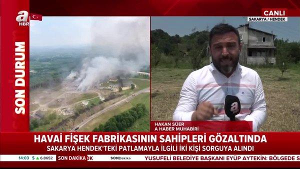 Son dakika: Sakarya'daki havai fişek fabrikasının sahipleri gözaltında! | Video