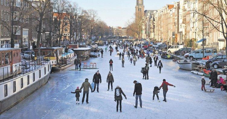 Sıfırın altında Amsterdam - Turizm Haberleri