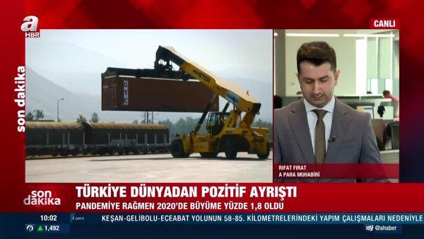 SON DAKİKA:TÜİKTürkiye'nin büyüme verisini açıkladı! | Video