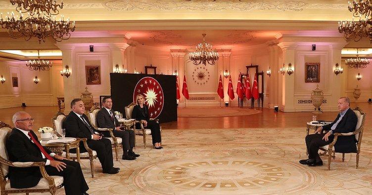 Son dakika: Başkan Erdoğan'dan CHP'ye 'THK' tepkisi: Bu uçakları çalışamaz hale getiren sizsiniz