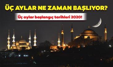 Üç aylar 2020 ne zaman başlıyor? Recep, Şaban, Ramazan üç aylar başlangıcı ne zaman?