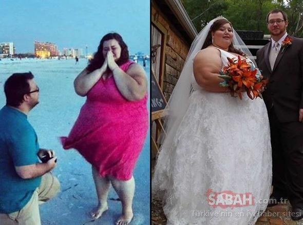Çift olarak toplam 200 kilo verdiler!