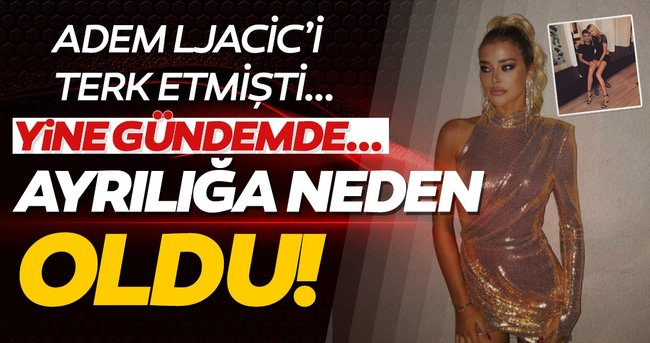 Beşiktaşlı Adem Ljajic'in eski sevgilisi Sofija Milosevic yine gündemde! Luka Jovic'in sevgilisinden ayrılmasına neden olmuştu...