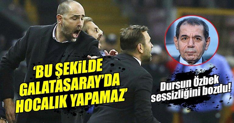 Dursun Özbek'ten Okan Buruk'a sert gönderme!
