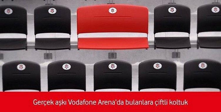 Vodafone Arena'da taraftara özel koltuk